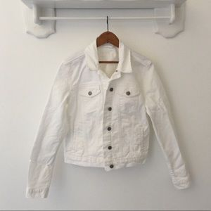 GAP 1969 White Denim Jacket size M